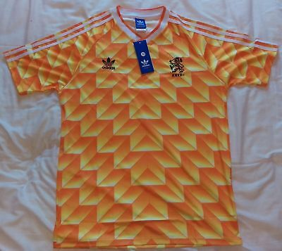 Holland Netherlands 1988 Retro Vintage Football Shirt