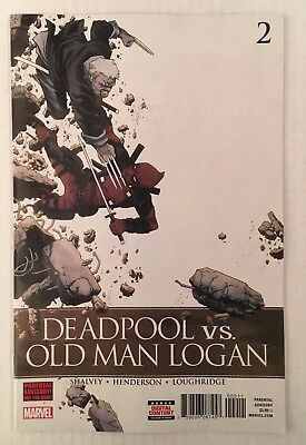 Marvel Comics: Deadpool Vs. Old Man Logan #2 (2018) - BN Bagged and Boarded