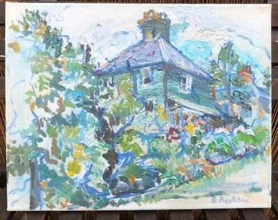 Contemporary Art Oil On Canvas Painting Signed by Artist Sheila Appleton Picture