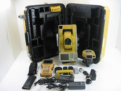 Topcon GPT-9003A Robotic Total Station, FC-2200 Data Collector, 1 MONTH WARRANTY