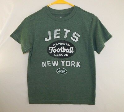 c33431aec New York Jets NFL Football T Shirt Reebok Green Youth Size BOYS Medium 8