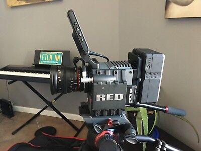 Red Scalet Mx Camera, Dsmc Package, Redmote, Red Volt, Tactical Cage, Redmag