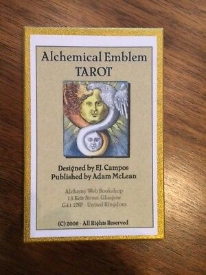 Alchemical Emblems tarot  by  F.J. Campos and Adam McLean 53/100 2006