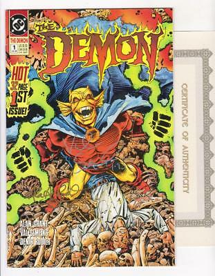THE DEMON 1 (NM-) VOLUME 3 AUTOGRAPHED by GRANT, SEMEIKS COA (FREE SHIPPING)*