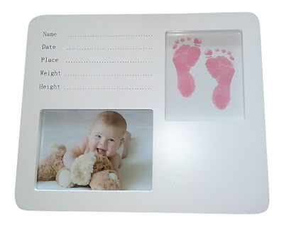 DIY Baby Casting kit Girl to Personalise- Free Pink Comforter with each order