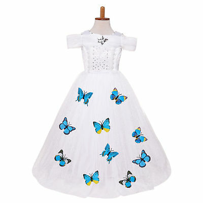 Kids Flower Girl Bow Princess Dress for Girls Party Wedding Bridesmaid Gown