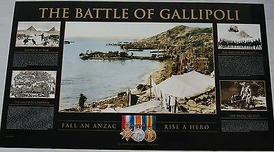 Battle Of Gallipoli Limited Anzac Cove Pyramid Cheops Print 100 Years 1915 2015