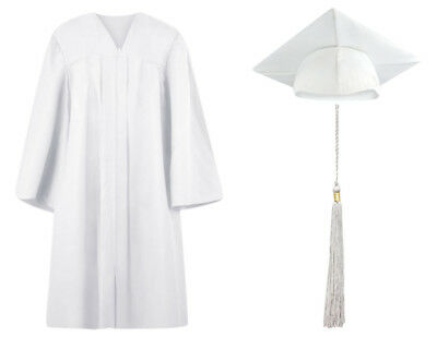 CLEARANCE- Graduation Cap Gown and Tassel Matte Finish