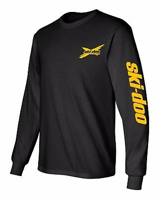 SKI-DOO  XTeam SNOWMOBILE Long Sleeve T-Shirt Sizes to 5X!