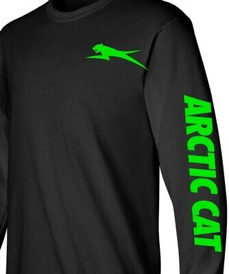 ARCTIC CAT style SNOWMOBILE Long Sleeve T-Shirt Sizes to 5X! Choose your design
