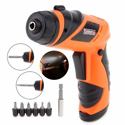 New Screwdriver Electric Drill Rechargeable Wireless Power Tool Cordless V kit