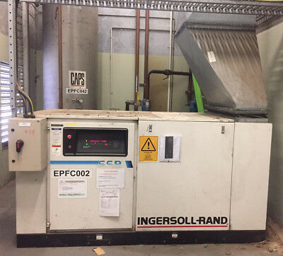 INGERSOLL RAND Rotary Screw Air Compressor SSR-EP100/50 439CFM 100HP 74.57kW