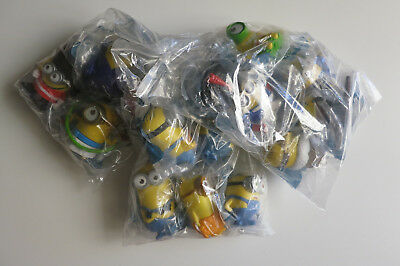 MINIONS McDonald's Happy Meal Toys 2015 Complete Set 14Pcs Pirate Jurassic