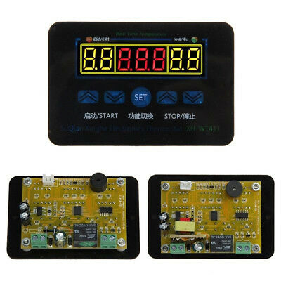 1PC Digital LED Temperature Controller Thermostat Control Switch + Probe US