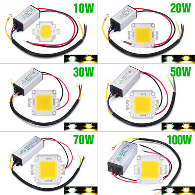 10W/20/30/50/100W LED Driver Power Supply Waterproof For LED Chip Floodlight