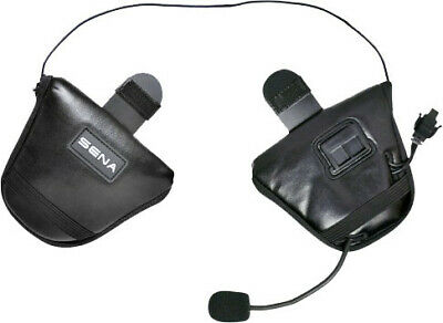 Sena Black Half Helmet Earpads for SPH10H-FM, SMH5 and SMH5-FM SC-A0306