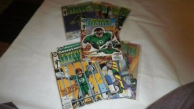 Green Lantern Comic Lot Emerald Dawn 1 & 2 Full Set + 1990 Series Issue 1