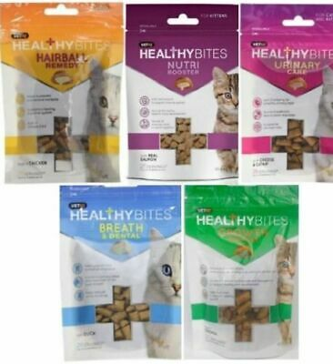 Mark & Chappell Healthy Bites Natural Treats For Cats & Kittens Supplement