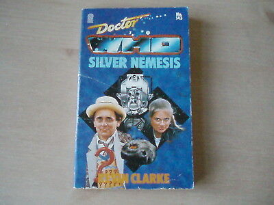 Doctor Who - Silver Nemesis- Kevin Clarke - Rare Target 143 Paperback