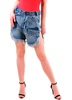 One Teaspoon Damen Nbw Authentic Frankies Shorts Weiß Größe 26 Uvp 126 € Bcf75 Shorts & Bermudas