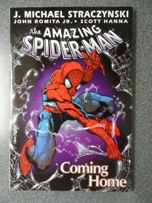 The Amazing Spider Man Coming Home Trade Paperback Nm/ Mint Retail  $15.95