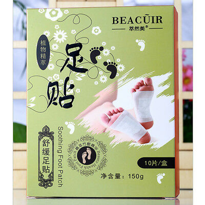 BEACUIR Detox Foot Patch Comfort Refreshing Cooling Effect Relaxation Cleansing