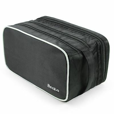 Becko Travel Toiletry Dopp Kit Travel Shaving Grooming Bag with Carry Handle...
