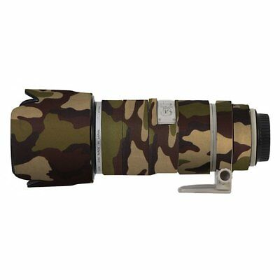 Canon 70-200mm f2.8 IS Mk1 Camouflage Green Neoprene Lens Protection Cover Coat