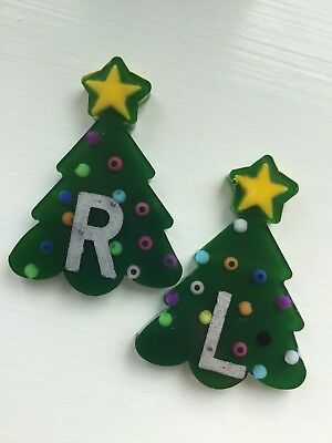 Christmas Trees x-ray markers - A pair of Left and Right