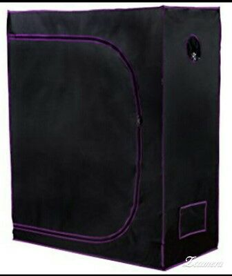 Apollo Horticulture 48x24x60 Mylar Hydroponic Grow Tent for Indoor Plant Grow...