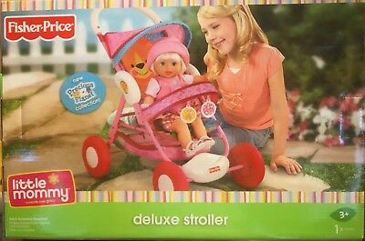 Fisher-Price Little Mommy Precious Planet DELUXE Doll Stroller - 2009 Mattel Inc
