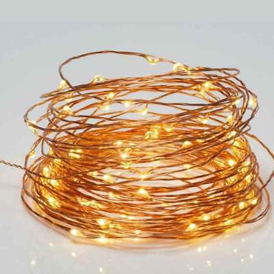 100 LED String Copper Wire Fairy Lights USB Powered Waterproof 10M Decoration