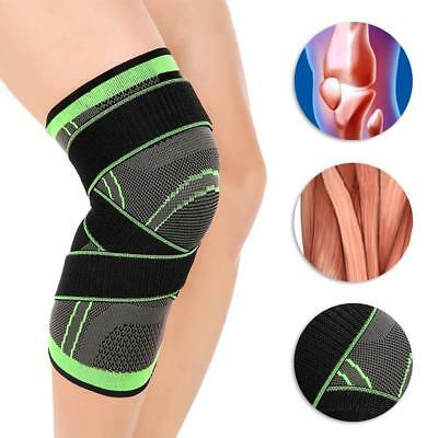 3D Weaving Sport Pressurization Knee Pad Injury Pressure Protect Durable BY