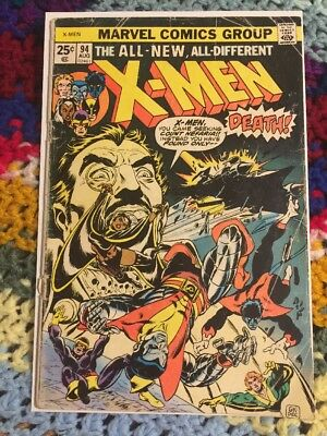 The X-Men #94 (Aug 1975, Marvel)  Good Ungraded Copy - See Details