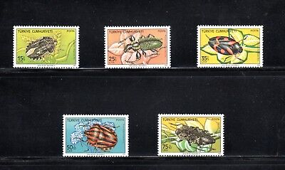 Turkey 1983 Insect Pests (2nd series) SG 2830/4 MUH
