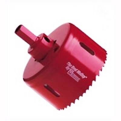 """M K MORSE REAL McCOY Bi-METAL HOLE SAW FROM 41 MM (1-5/8"""") TO 60 MM ( 2-3/8"""" )"""
