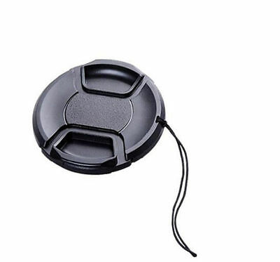 37mm Centre Pinch Front Lens Cap Protector Cover For Canon Sony Nikon Olympus