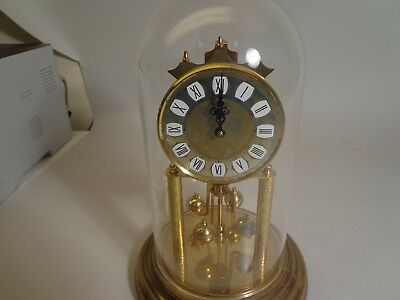 Vintage Haller 400 Day Anniversary Clock With Dome