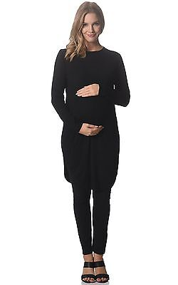 BNWT  Extra Long Knitted Maternity Tunic - Sizes 8,10,12,14 & 16