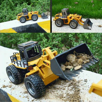 New RC 1:18 2.4 GHz 6CH Truck Construction Front End Loader 1520