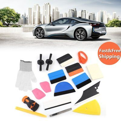 Professional Auto Car Window Tint Tools Kit Decals Wrap Application Squeegee BP