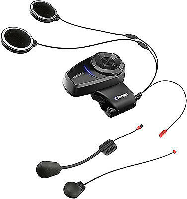 Sena 10S Bluetooth 4.1 Headset And Intercom Fm Radio Single Pack P/n 10S-01