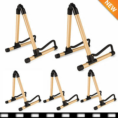 5X Folding Guitar Floor A Frame Universal Acoustic Electric Bass Stand Holder BP