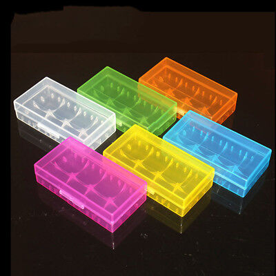 Portable Waterproof Dustproof Plastic Battery Case Storage Box For 18650 Battery