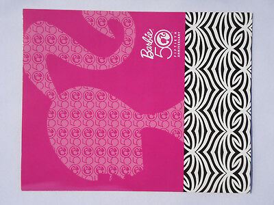 Barbie 50Th Anniversary Collectors Stamp Set Folder 2009
