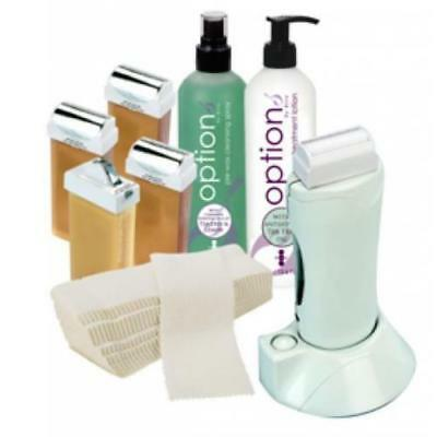 Hive Waxing Hand Held 100g Roller Heater Hair Removal Wax Starter Kit HOB6018