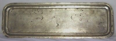 Vintage Oriental Engraved Brass Long Tray - FREE Shipping [PL-3861 A ]