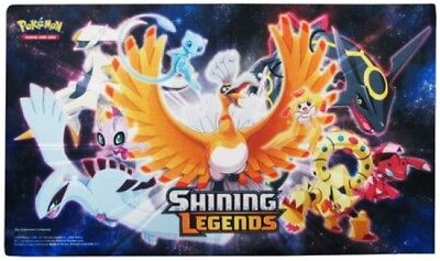 Pokemon TCG Shining Legends Play Mat - Super Premium Ho-Oh Collection Box