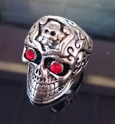 Newest Design Job Lots Skeleton Loong Rings Alloy Cool Men's Jewelry