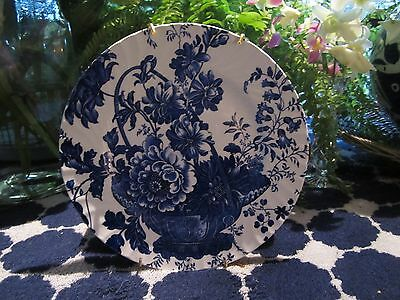 Burleigh Royal Crownford 'Charlotte' Plate With Hanger